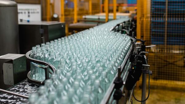 Production line for juice bottling