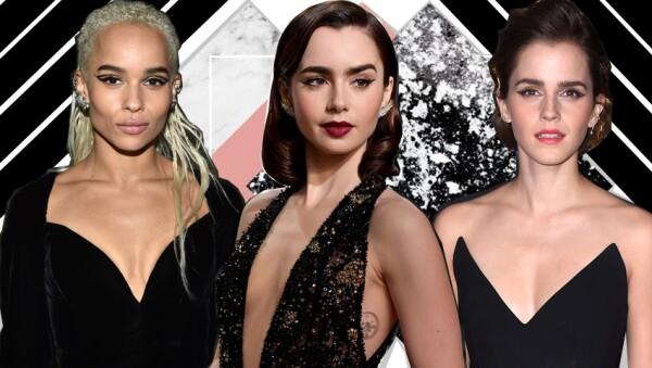 Zoë Kravitz, Lily Collins y Emma Watson han sido vistas con este delineado.