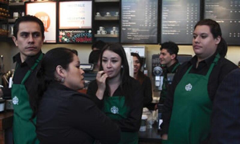 Desde 2013, Starbucks ofrecía la información nutricional de sus productos en su página de Internet. (Foto: Cuartoscuro)