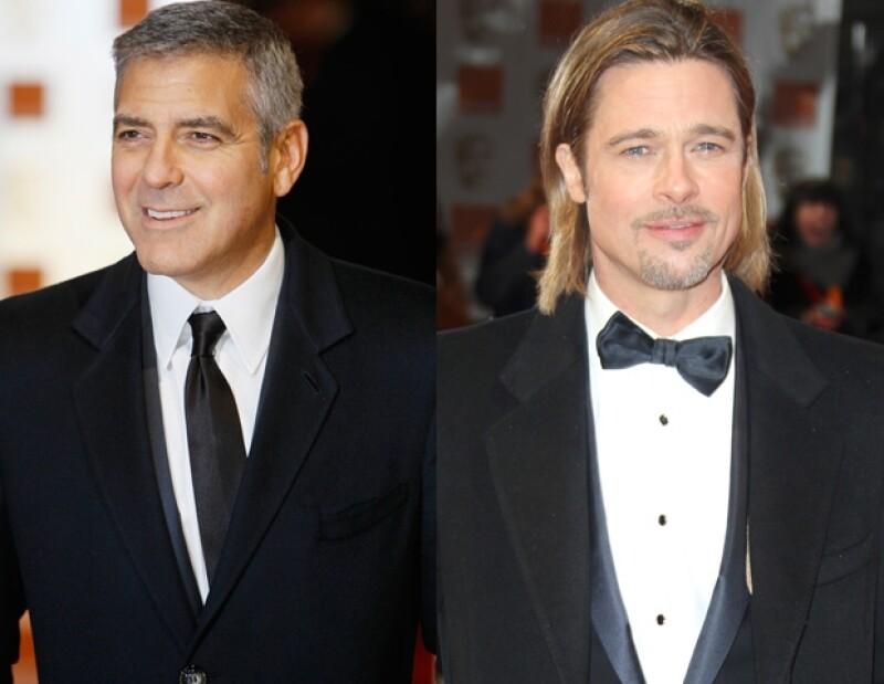 George Clooney y Brad Pitt se verán las caras en la entrega de los premios Oscar. Haz click aquí para elegir a tu favorito.