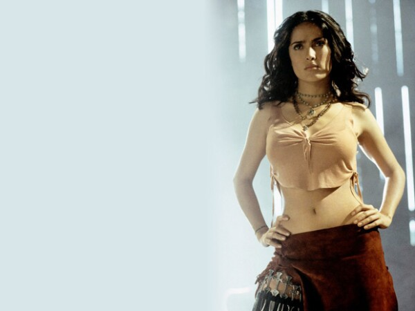 Toda una femme fatale en Once Upon a Time in Mexico.