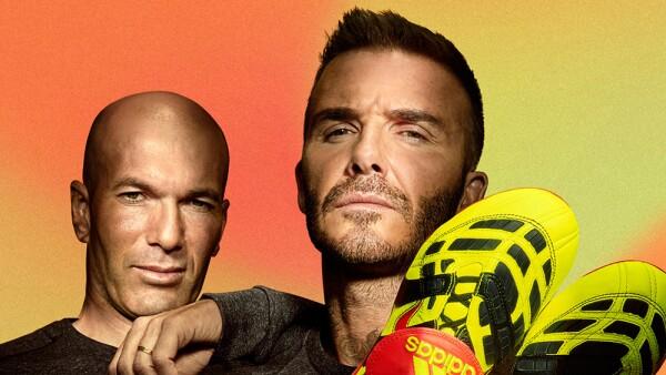 Zinedine Zidane y David Beckham