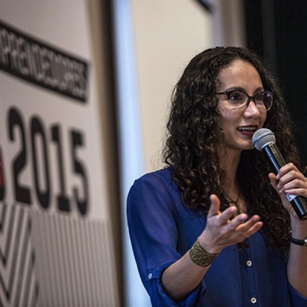 """""""En el mundo de los negocios el fracaso es mucho más común que el éxito"""", dijo la directora de FuckUp Nights, Leticia Gasca."""