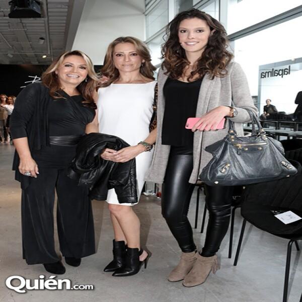 Rosaura Henkel, Patricia Bessudo y Andrea Tabachnik