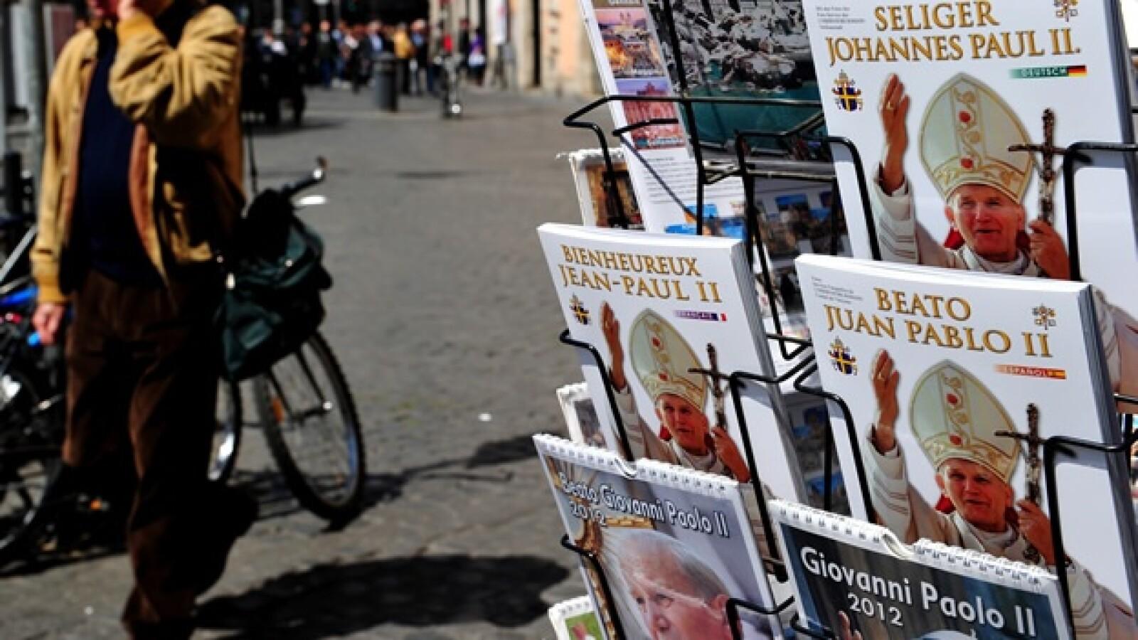 Juan Pablo II - calendarios y libros