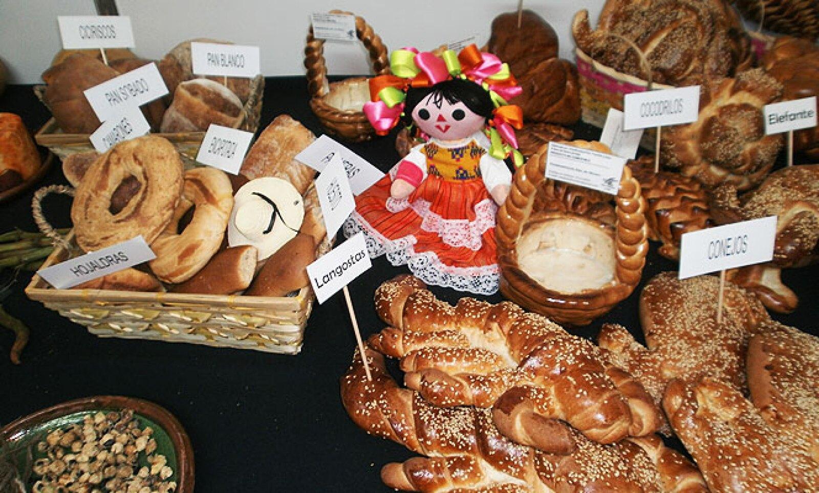 En México 90% de la población es consumidor de pan blanco y pan de dulce.
