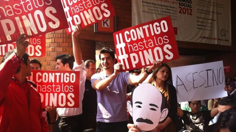 protestas ibero peña
