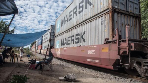 Bloqueos a las vías ferroviarias de Michoacán