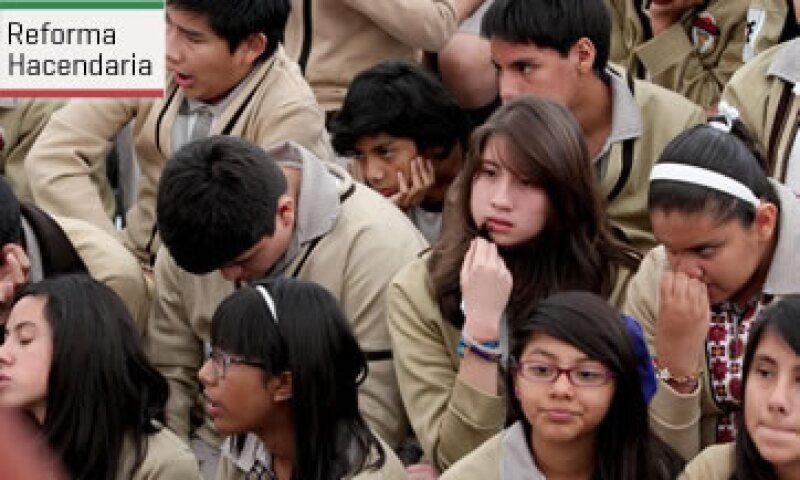 Un 13% de los estudiantes de todos los niveles asiste a escuelas privadas (Foto: )