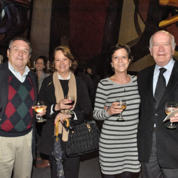 Manuel y Cristina del Valle,Lourdes Fernández y Jorge Borbolla