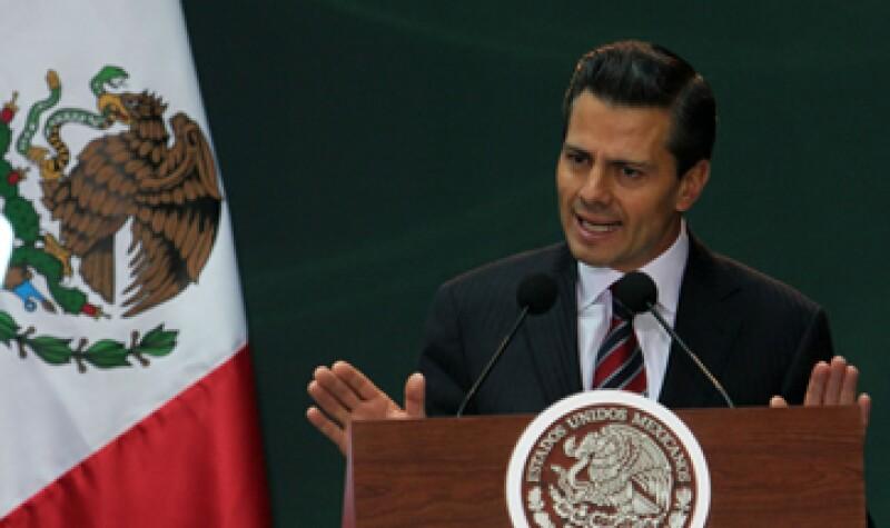 La reforma constitucional asegura la libre competencia, dijo el presidente. (Foto: Notimex)