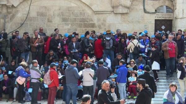 Una protesta sin precedentes mantiene cerrado el Santo Sepulcro en Jerusalén