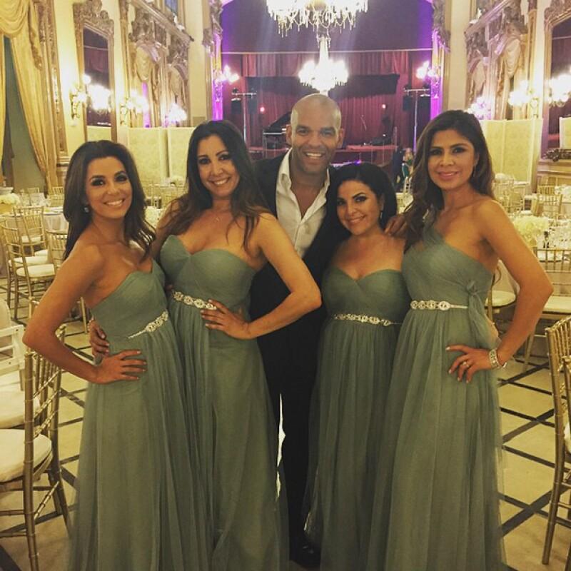 Al parecer Pepe Bastón brilló por su ausencia en la boda a la que su novia fue invitada.