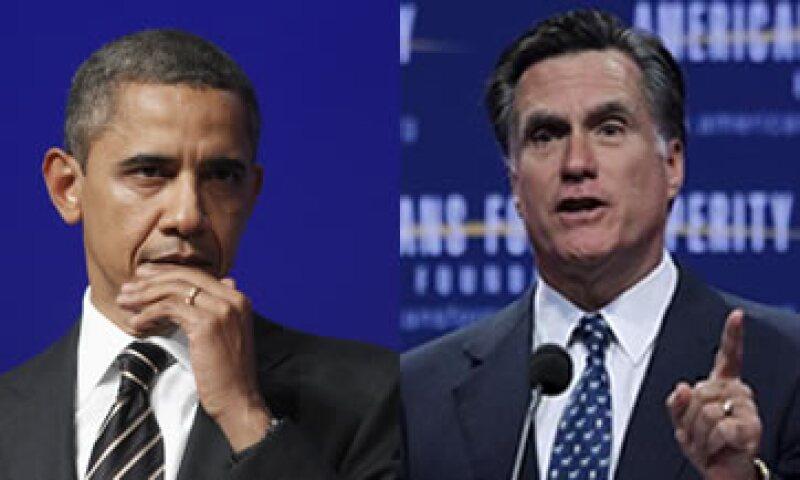 Barack Obama habla de la Igualdad de Oportunidades, mientras que Mitt Romney habla de una Sociedad de Oportunidades. (Foto: Especial)