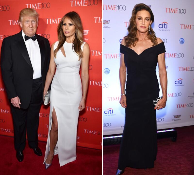 Trump y su esposa Melania asistieron al evento, al igual que lo hizo Caitlyn Jenner.