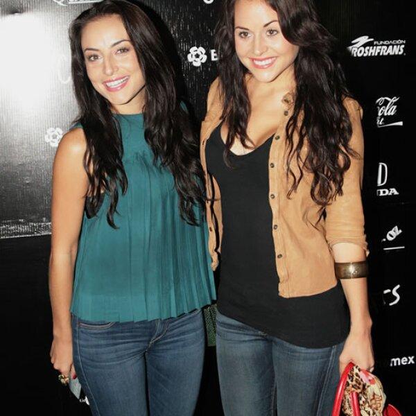 Zuria y Marimar Vega.
