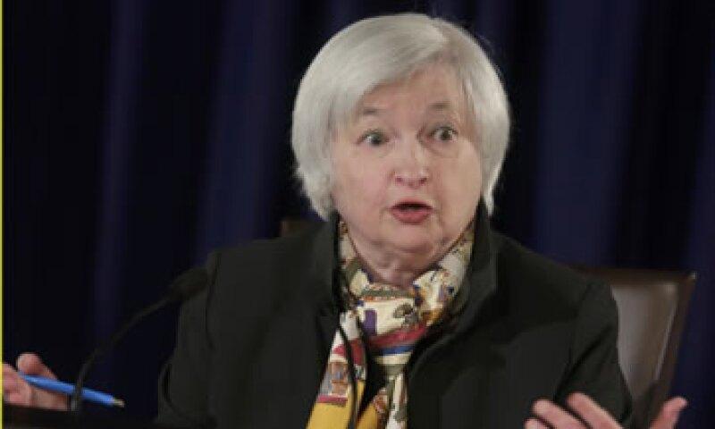 Janet Yellen dijo que confía en subir la tasa cuando la inflación ronde hacia el objetivo de 2%. (Foto: Reuters)