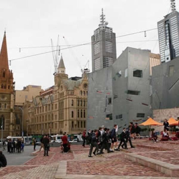 plaza publica en melbourne