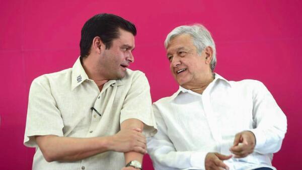 AMLO y gobernador de Nayarit