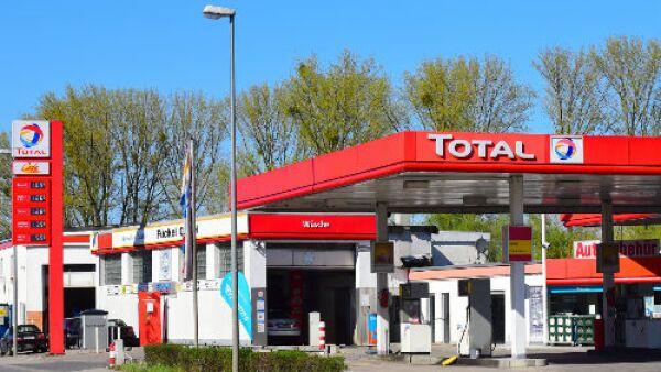 Total gasolinera