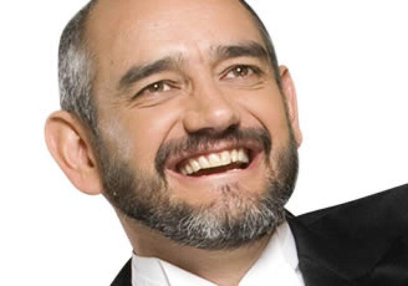 Héctor Rode es Vicepresidente de Mercadotecnia de Axa México y un elemento esencial en el proyecto del Talismán. (Foto: Alfredo Pelcastre y Alejandro Hernández)