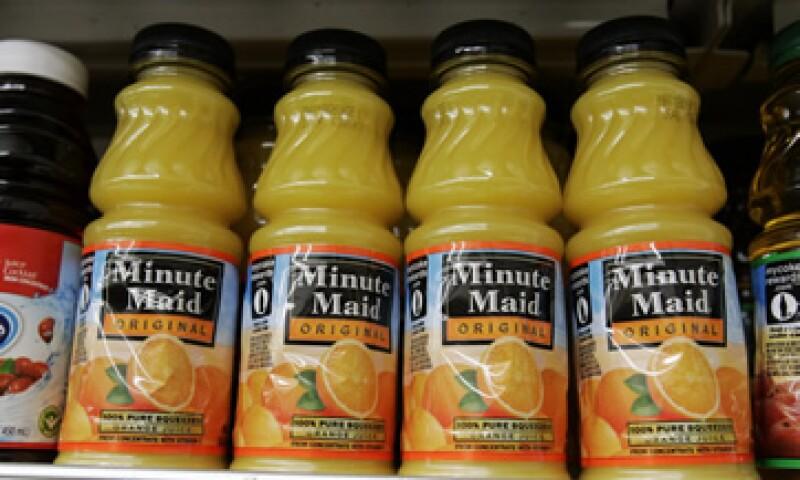Coca-Cola fabrica las marcas de jugo de naranja Minute Maid y Simply Orange. (Foto: AP)