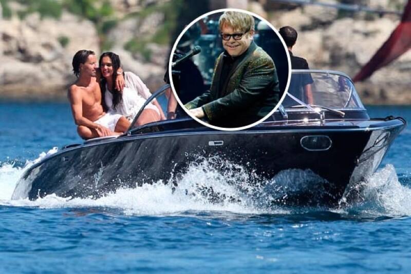 Tamara Ecclestone no escatimó en gastos para su boda; en ella cantó Elton John.