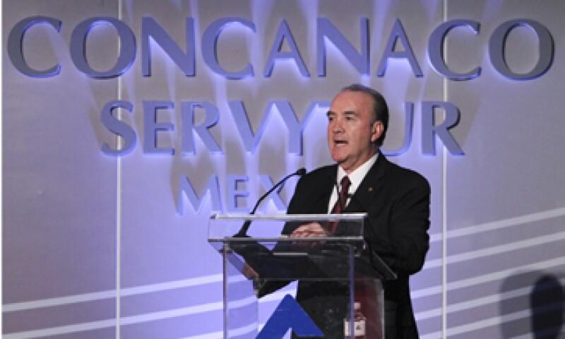 Jorge Dávila Flores dijo que es necesario bajar los costos de luz y gas. (Foto: Notimex)