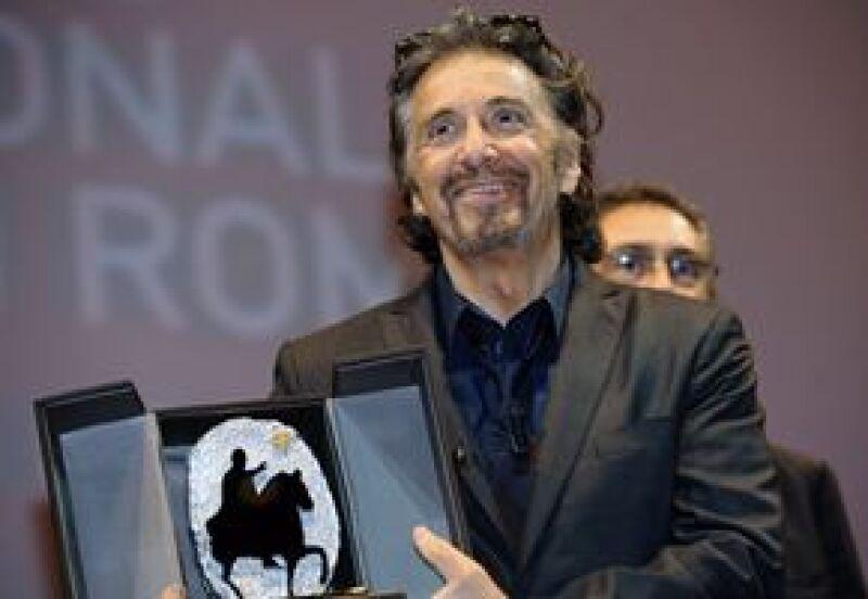 El famoso actor de 68 años recibió el premio Marco Aurelio por su trayectoria.