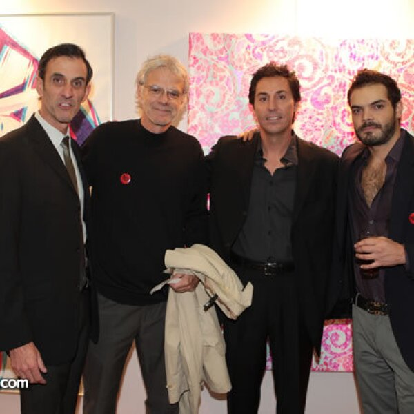 Luis Pastrana, Patrick Silvier, Christian Vizl, Víctor del Palacio