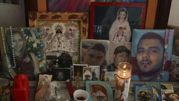 Manifestación de madres de desaparecidos en Veracruz.
