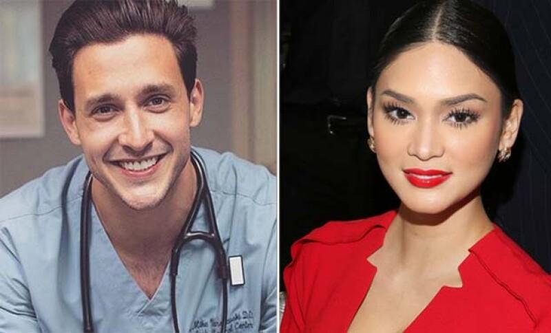La ganadora de certamen, Pia Alonzo Wutzbach confirmó hace unos días su relación con el guapo doctor, Mikhail Varshavsky.