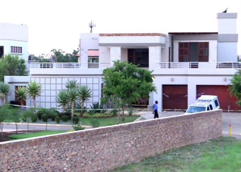 Casa de Oscar Pistorius en Pretoria, Sud�frica