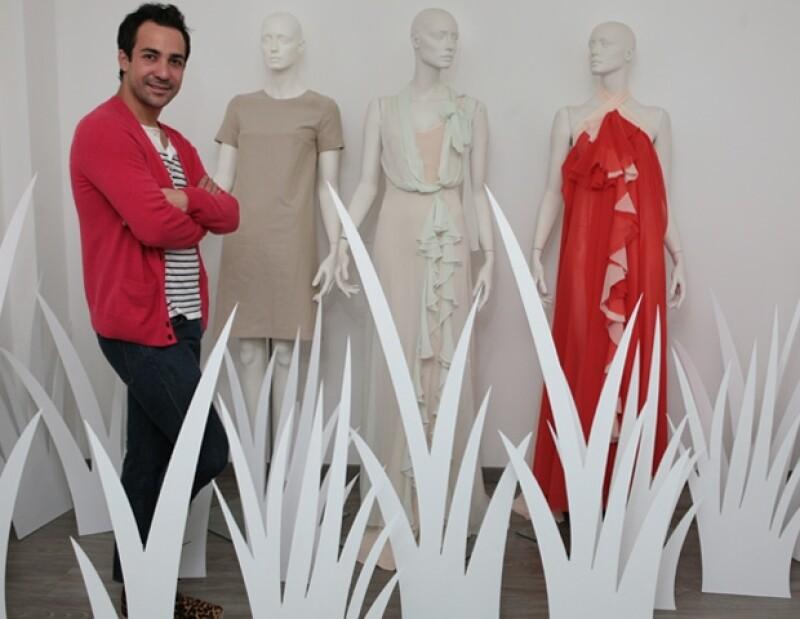 El diseñador mexicano tituló su colección de primavera `Love´, la cual está inspirada en Marilyn Monroe.