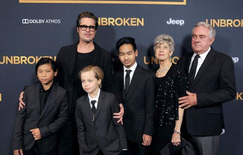 Sin duda sus hijos cumplieron con su trabajo de representar a su mamá en la premiere de su película.