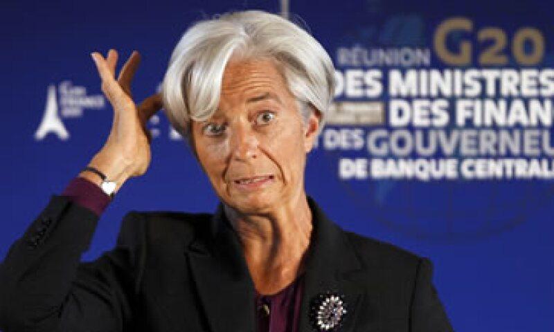 Christine Lagarde dijo que las oscuras perspectivas de riesgo podrían tocar a las naciones emergentes. (Foto: Reuters)