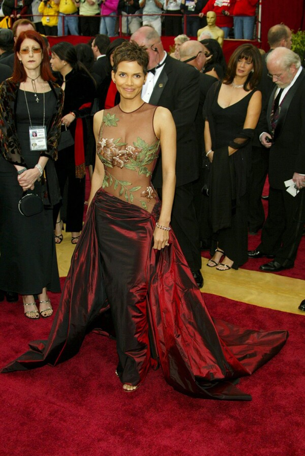 Academy Awards Arrivals at the Kodak Theatre, Los Angeles, America - 24 Mar 2002