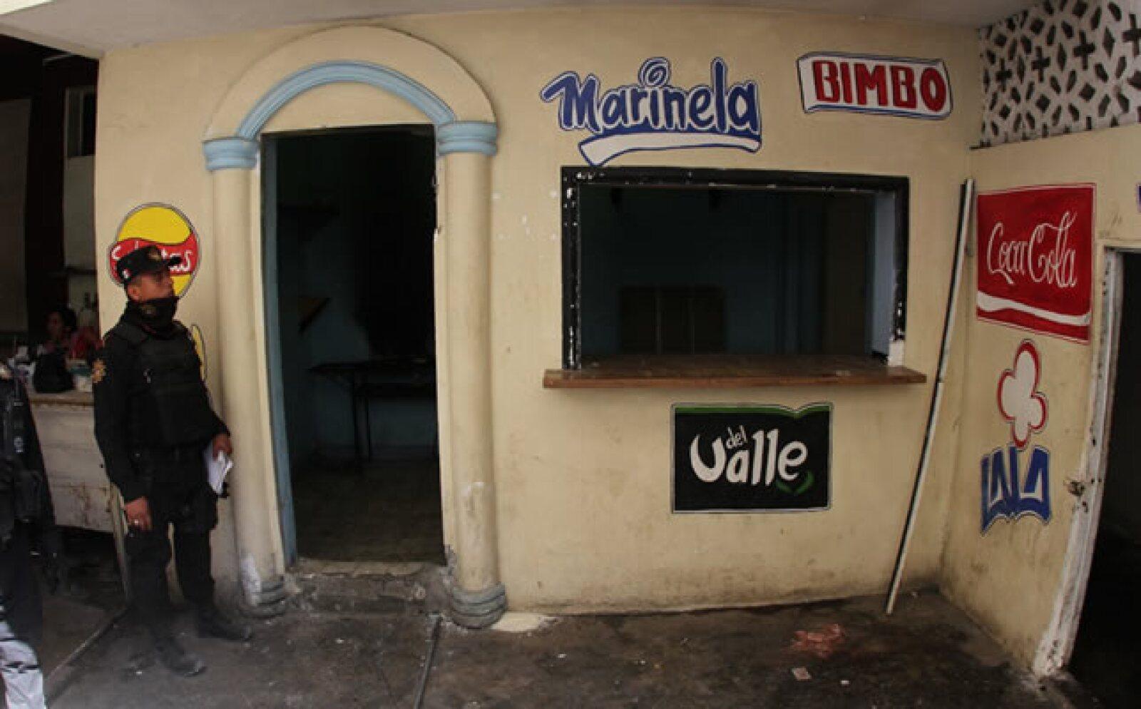 En este lugar los presos del penal podían comprar bebidas alcohólicas
