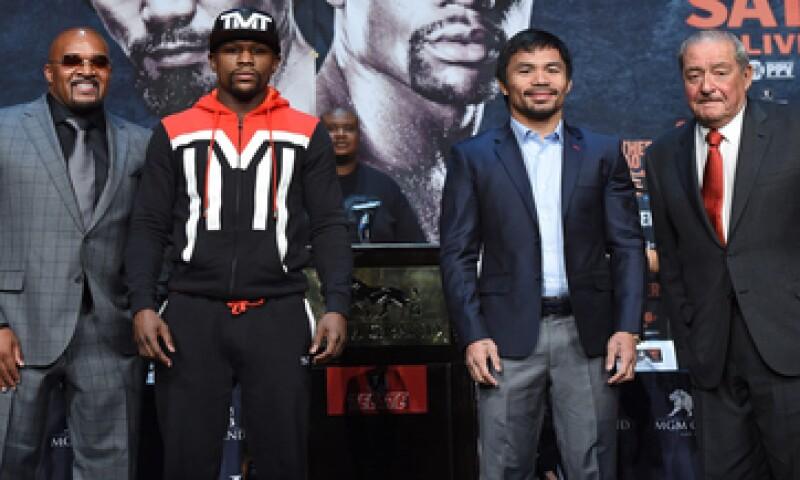 La pelea del siglo está valuada en 250 millones de dólares. (Foto: Getty Images)