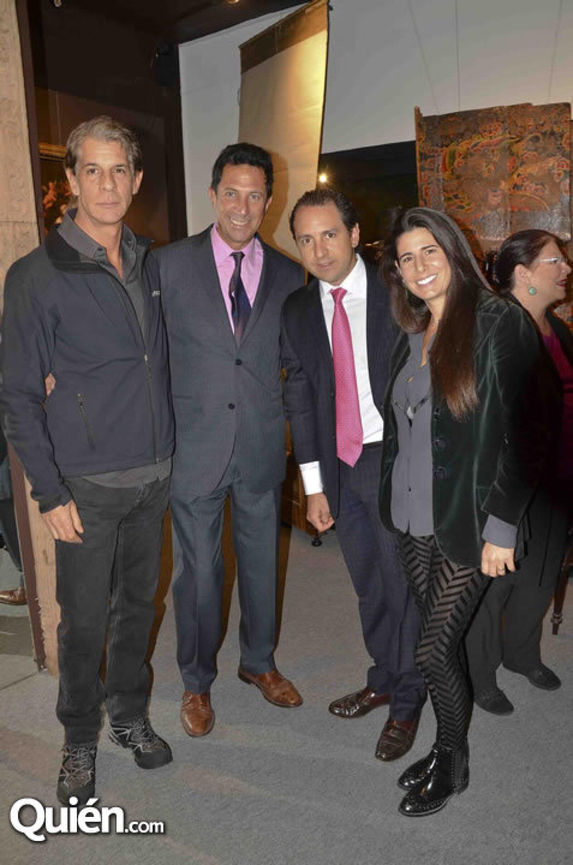 Fabian Arnaud, Fernando Vilchis, Juan Pablo Carranza y Daniela Cámara
