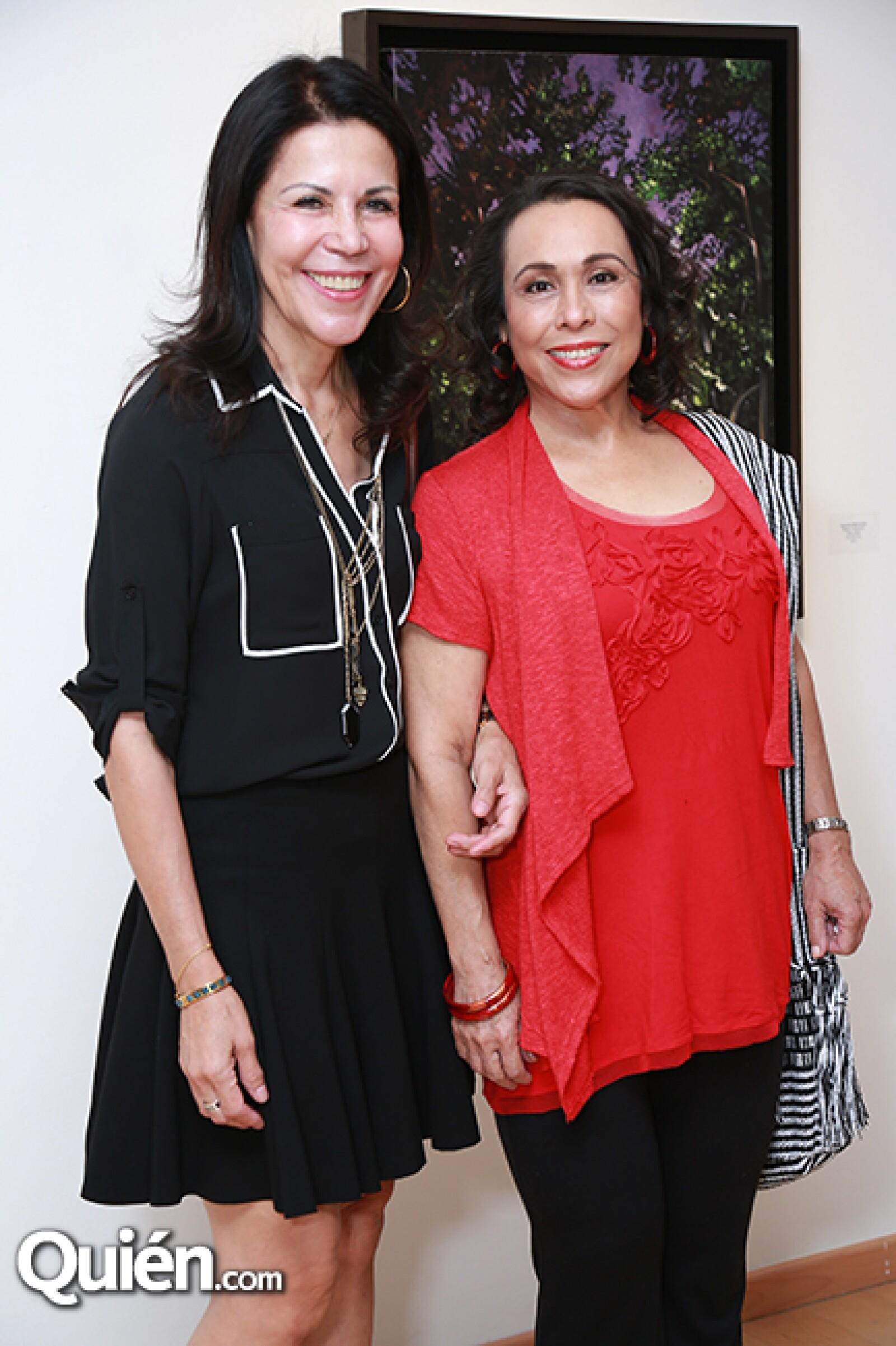 Patricia de Marcos y Leticia Navarro