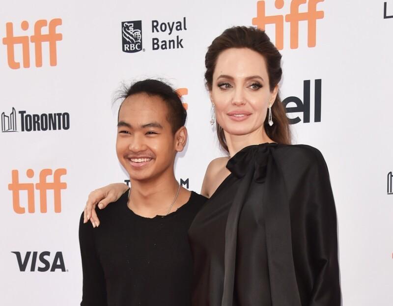 Angelina Jolie y Maddox