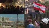 A una semana de la explosión, Líbano continúa protestas contra sus líderes