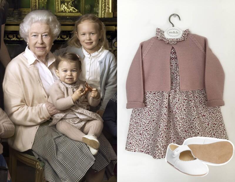 La princesa vistió un suéter y vestido de la marca española MyH.