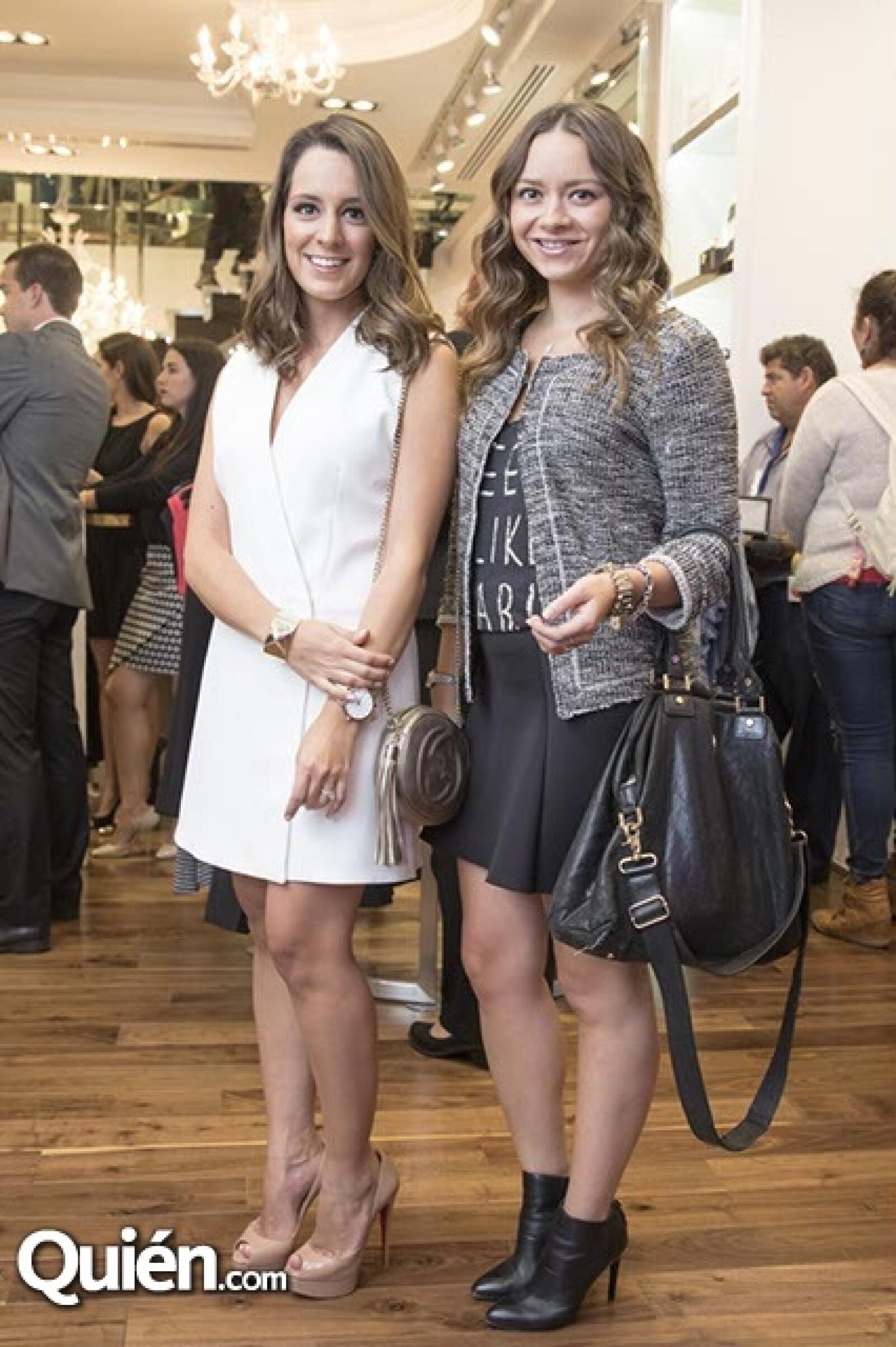 Jimena Álvarez y Elena Serviere