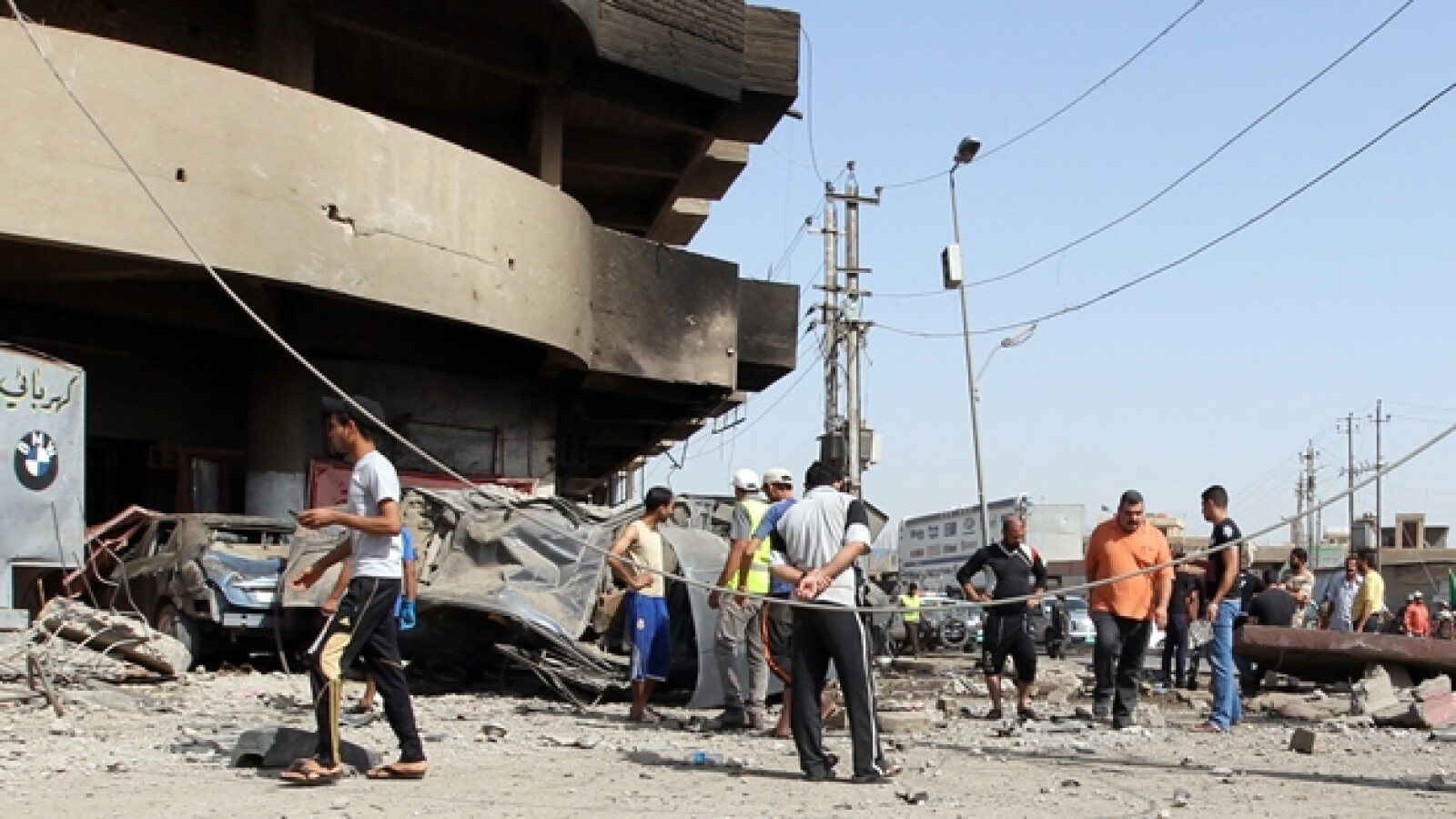 iraq bagdad chiitas peregrinos atentados coche bomba