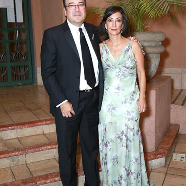 José Quiros y Sonia Kalifa de Quiros