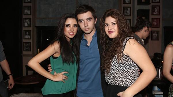 Alexa Quiñones, Josué y Zaye Ortiz