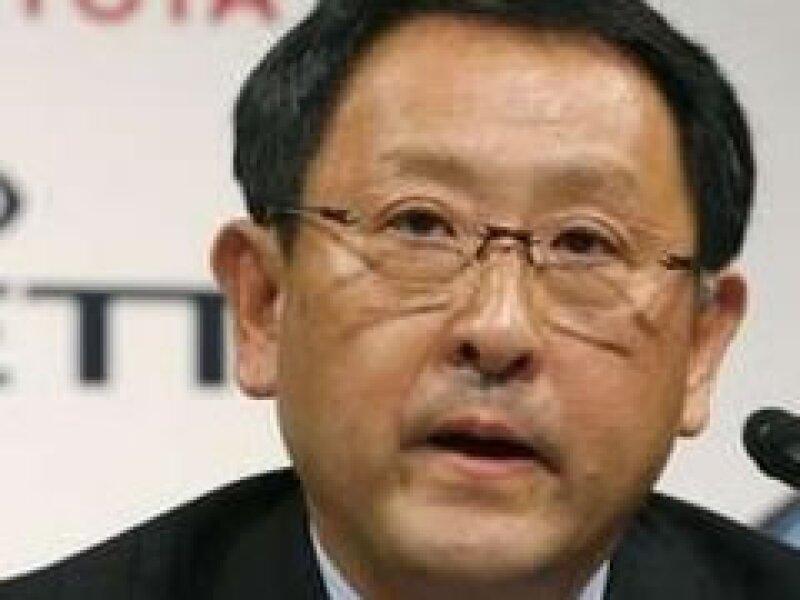 Akio Toyoda es nieto del fundador de Toyota. (Foto: Reuters)