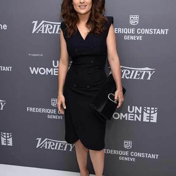 Durante un evento en Cannes en contra de la desigualda de género organizado por Variety.